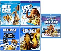 Ice Age Collection 5 Movie Collection Blu Ray Collision Course / The Meltdown / Continental Drift & Dawn of The
