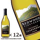 【お酒】 レッドウッド シャルドネ(白) 750ml ×12本 [REDWOOD VINEYARDS CALIFORNIA CHARDONNAY]