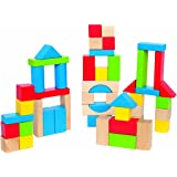 Hape E0409 Maple Blocks, Multicolor