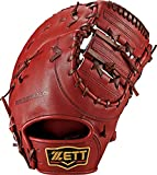 ZETT(ゼット) 野球 硬式 ファースト ミット プロステイタス (右投げ用) BPROCM33 ボルドーブラウン