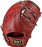 ZETT(ゼット) 野球 硬式 ファースト ミット プロステイタス (左手用) BPROCM33 ボルドーブラウン