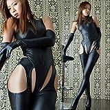 ナイキ スニーカー ボンテージスーツ コスチューム ブラック フリーサイズ