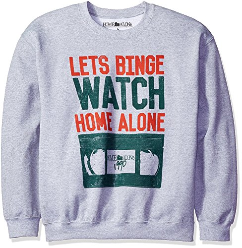 Home Alone Men's Lets Binge Watch Home...