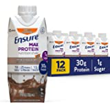 Ensure Max Protein, Chocolate with Caffeine, 12ct