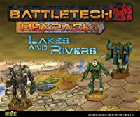 Battletech Hexpack: Woods & Rivers
