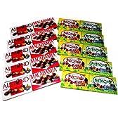 MEIJI (明治製菓) きのこの山5箱&たけのこの里5箱&アーモンド5箱&マカダミア5箱セット