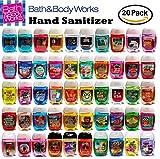 Bath and Body Works Pocketbac Hand Sanitizer Grab Bag Bundle lot of (20) Anti-Bacterial Hand Gels by PocketBac