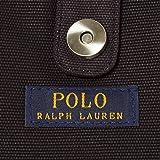 (ポロ ラルフローレン) POLO RALPH LAUREN ポロラルフローレン バッグ POLO RALPH LAUREN 959011 SCHOOL TOTE MEDIUM トートバッグ BLACK/ WHITE [並行輸入品]