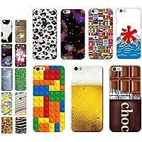 iPhone7 (アイフォン7  4.7インチ用) スマホケース カバー 【1090B】 おもしろ / 【E】ブロック / ハードケース