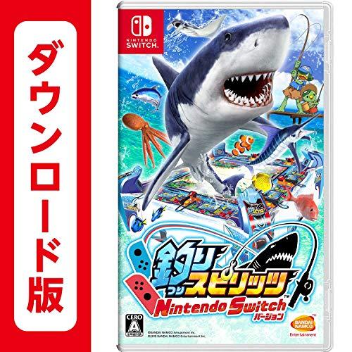 バンダイナムコエンターテインメント 釣りスピリッツ Nintendo Switchバージョン B07TR5CSS9 1枚目