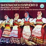 ショスタコーヴィチ : 交響曲 第9番 | プロコフィエフ : 組曲 「キージェ中尉」 (Shostakovich : Symphony # 9 | Prokofiev : Lieutenant Kije Suite / Sir Malcolm Sargent , The London Symphony Orchestra) [SACD Hybrid]