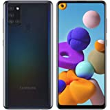"""Samsung Galaxy A21S (64GB, 4GB) 6.5"""", Quad Camera, All Day Battery Dual SIM GSM Unlocked Global 4G LTE VoLTE (T-Mobile, AT&T,"""