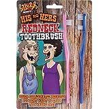 [ビリー ? ボブ]Billy-Bob Billy Bob His and Hers Redneck Toothbrush Hillbilly Gag Gift 44105 [並行輸入品]