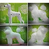 モデル Puppy Dog + Pet Clip用 Wig 美容練習, 犬模型 美容訓練用 マネキン Dog for 愛…
