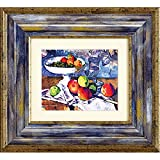 ユーパワー アートフレーム ミュージアム・アート セザンヌ 「グラスと果物とナイフのある静物」 MW-05036 MW-05036