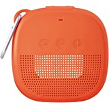 Aotnex Silicone Case for Bose SoundLink Micro Bluetooth Speaker, Super Soft Waterproof Shockproof Cover with Portable Metal H