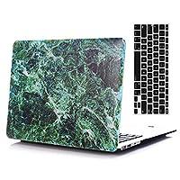 "ab0070Macbookケース 2016 Ver 13"" Pro (A1706/A1708) VA0048-2016 13Pro-Marble Dark Green"