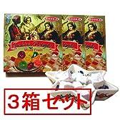 トルコ ターキッシュ・ディライト フルーツミックス・ロクム 250g×3箱