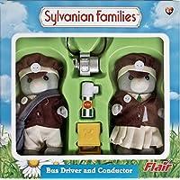 シルバニアファミリー(Sylvanian Families) バスドライバー&コンダクター [並行輸入品]