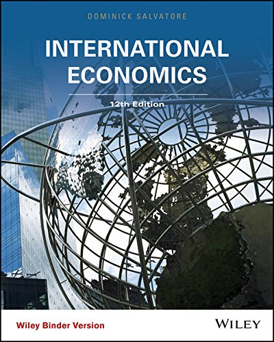 Download International Economics 1118955765