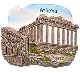 アテネ ギリシャ ギリシャのパルテノン神殿のアテナ 3 D ガレージ グッズ冷蔵庫マグネット