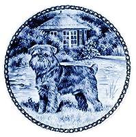 デンマーク製 ドッグ・プレート (犬の絵皿) 直輸入! Brussels Griffon / ブリュッセル・グリフォン