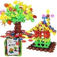 知育玩具 ブロック おもちゃ 積み木 連結型 立体 パズル はめ込み 男の子 女の子 400ピース