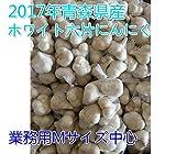2015年 青森県産 にんにく業務用 5kg ホワイト六片 Mサイズ中心 業界最安値