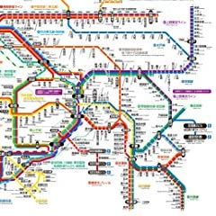 JR東日本 東京近郊路線図カレンダー2018 中央線・総武線各駅停車BOX (ジェイアールヒガシニホン トウキョウキンコウロセンズカレンダー2018 チュウオウセン・ソウブセンカクエキテイシャボックス)