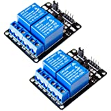 2Pcs 2 Channel DC 5V Relay Module Board for Arduino Raspberry Pi ARM AVR CN