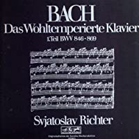 Bach: The Well-Tempered Clavier, Book 1 by Sviatoslav Richter (2009-09-28)