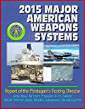 2015 Major American Weapons Systems: Report of the Pentagon's Testing Director - Army, Navy, Air Force Programs, F-35, Ballistic Missile Defense, Aegis, ... Aircraft Carriers (English Edition) 画像