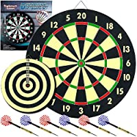 TGTM Game Room Dart Set with 6ダーツとボード