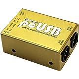 Whirlwind PcUSB 2チャンネルアクティブUSBピースダイレクトボックス