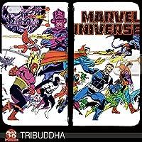 マーベル ヒーロー MARVEL UNIVERSE 手帳型 HUAWEI P20 lite(ANE-LX2J)(G004902_03) 専用 アメコミ vintage pop art センス 個性的 スマホケース