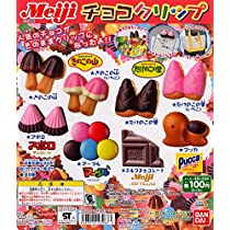 Meiji チョコクリップより 6種 (きのこの山、たけのこの里 いちごVer.)