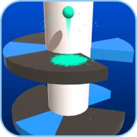 Helix Jump Game - Ball Bouncing - Ball Jumping and Falling Game Free
