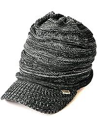 (カジュアルボックス) ニット帽 ゆったりデザイン編みニットキャスケット ユニセックス charm