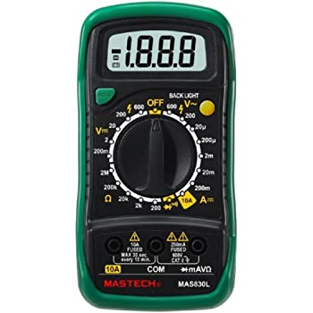 MAS830L 高精度 デジタルマルチテスター