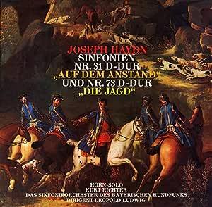 ハイドン/交響曲第31番「ホルン信号」・第73番「狩」