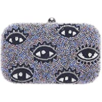 From St Xavier Women's ICU Box Clutch, Purple, One Size