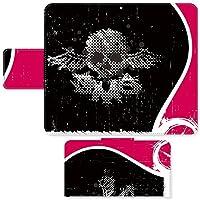 arrows M03 ☆ ケース・カバー 完全受注生産 完全国内印刷 スライド式スマホケース 手帳型 イラスト スカル SIMフリー SIMカード シムフリー スマホカバー オリジナルデザイン プリント 日本製