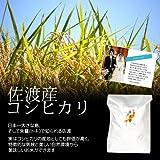 【結婚式の引出物に】オリジナルメッセージカード付き!佐渡産コシヒカリ 白米(精米) 20kg(10kg×2袋)
