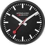 MONDAINE (モンディーン) 掛け時計 ウォールクロック ブラック A990.CLOCK.64SBB