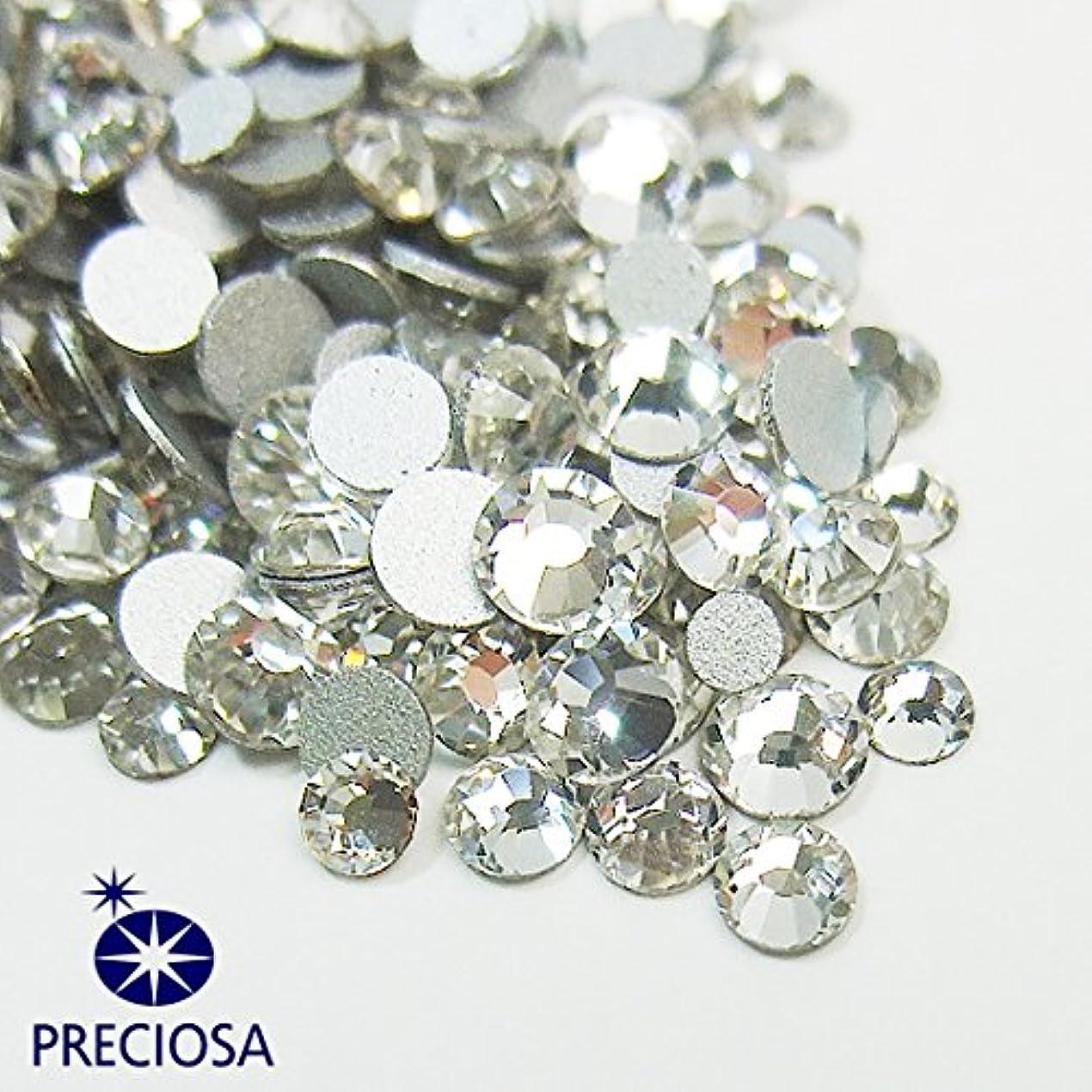 のぞき穴確立マニフェストプレシオサ(PRECIOSA) チェコ製ラインストーン【お試しMIX】 クリスタル 160粒入
