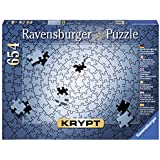 Ravensburger KRYPT Silver Spiral 654 pc,Adult Puzzles