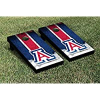 Arizona Wildcats regulation Cornhole Game Setヴィンテージバージョン