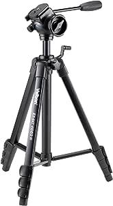 Velbon ビデオ用三脚 EX-547 VIDEO N 4段 レバーロック 脚径23mm 中型 フリュード雲台 DIN規格クイックシュー対応 アルミ脚 301307
