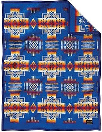 [ペンドルトン] Chief Joseph Muchacho Blankets チーフジョセフクリフブランケット 51164/Blue ZD632