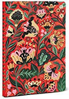 High Note Dinara's Vibrant Floral Personal Planning Non-dated Notebook Organizer Planner Journal